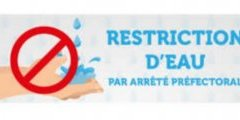 Alerte Restriction Eau